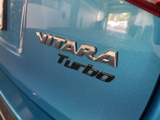 2016 Suzuki Vitara LY S Turbo 2WD Green 6 Speed Sports Automatic Wagon
