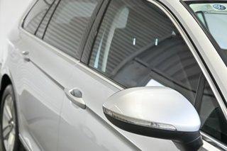 2016 Volkswagen Passat 3C (B8) MY16 132TSI DSG Silver 7 Speed Sports Automatic Dual Clutch Wagon.