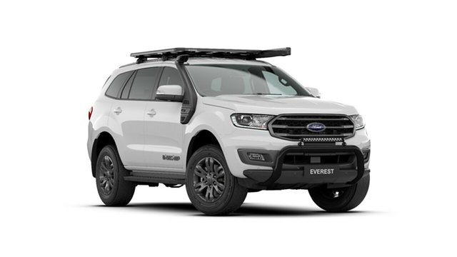 New Ford Everest UA II 2021.25MY Trend Tanunda, 2020 Ford Everest UA II 2021.25MY Trend Arctic White 6 Speed Sports Automatic SUV