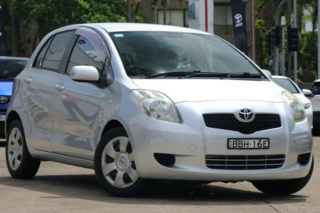 Pre-Owned Toyota Yaris NCP91R YRS Mosman, 2007 Toyota Yaris NCP91R YRS Quicksilver 4 Speed Automatic Hatchback