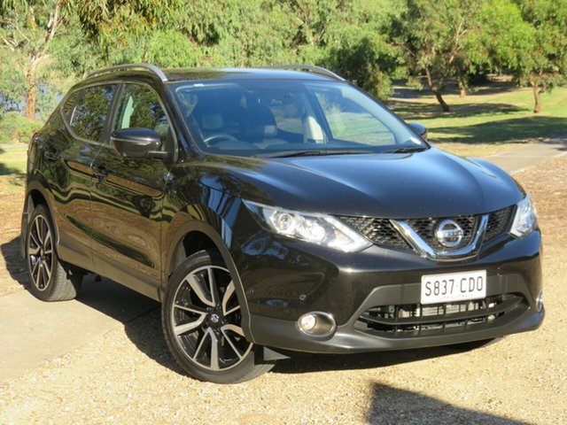 Used Nissan Qashqai J11 TI Morphett Vale, 2017 Nissan Qashqai J11 TI Black 1 Speed Constant Variable Wagon