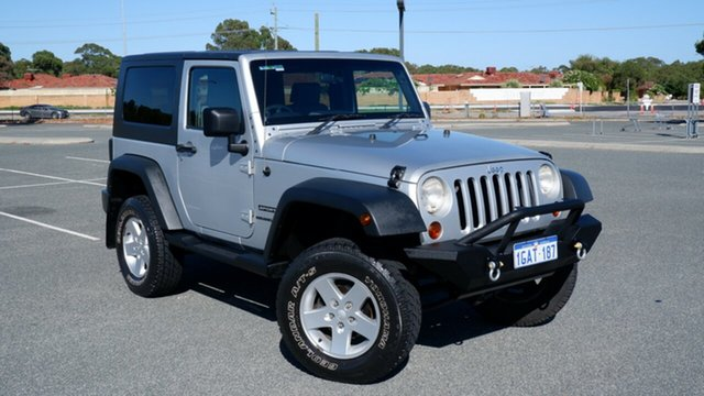 Used Jeep Wrangler JK MY2010 Sport Maddington, 2009 Jeep Wrangler JK MY2010 Sport Silver 6 Speed Manual Softtop