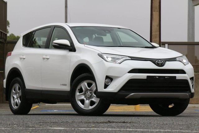 Used Toyota RAV4 ALA49R GX AWD Clare, 2018 Toyota RAV4 ALA49R GX AWD White 6 Speed Sports Automatic Wagon