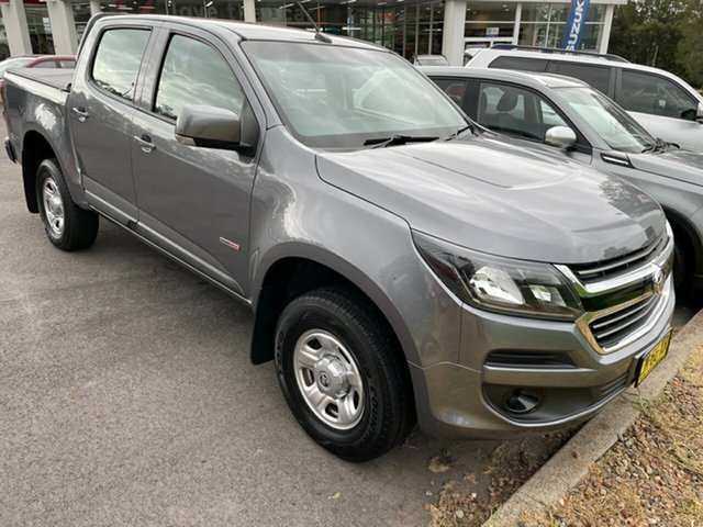 Used Holden Colorado RG MY17 LS Crew Cab 4x2 Maitland, 2017 Holden Colorado RG MY17 LS Crew Cab 4x2 Grey 6 Speed Sports Automatic Cab Chassis
