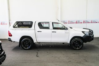 2015 Toyota Hilux GUN125R Workmate Double Cab Glacier White 6 Speed Manual Utility