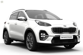 2019 Kia Sportage QL MY20 GT-Line AWD White 6 Speed Sports Automatic Wagon