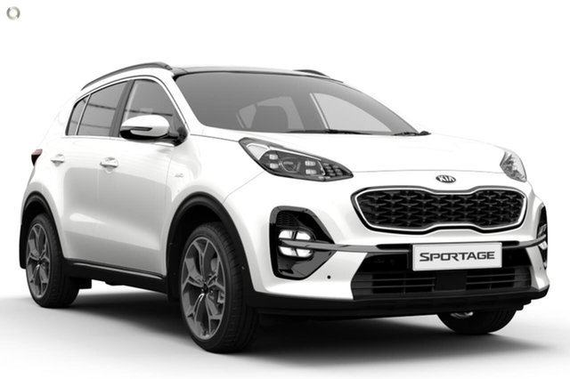 Demo Kia Sportage QL MY20 GT-Line AWD Reynella, 2019 Kia Sportage QL MY20 GT-Line AWD White 6 Speed Sports Automatic Wagon