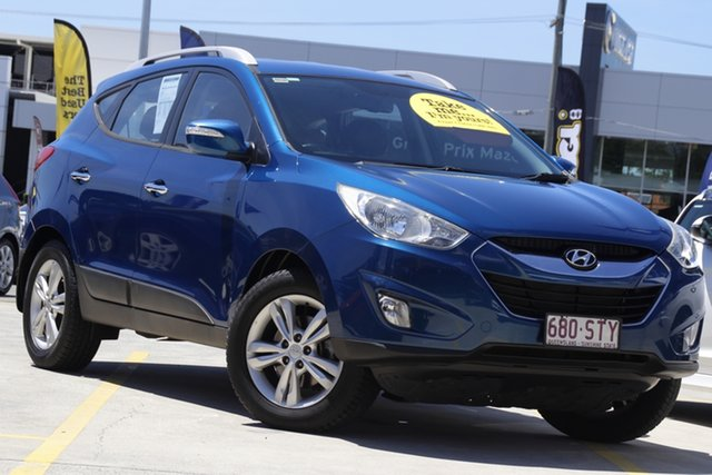 Used Hyundai ix35 LM MY12 Elite AWD Aspley, 2012 Hyundai ix35 LM MY12 Elite AWD Blue 6 Speed Sports Automatic Wagon