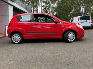 2009 Holden Barina TK MY09 Red 4 Speed Automatic Hatchback