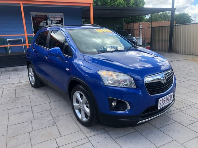 Used Holden Trax TJ MY15 LTZ Mundingburra, 2014 Holden Trax TJ MY15 LTZ Blue 6 Speed Automatic Wagon