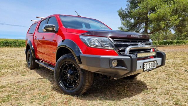 Used Holden Colorado RG MY17 LTZ Pickup Crew Cab Nuriootpa, 2017 Holden Colorado RG MY17 LTZ Pickup Crew Cab Red 6 Speed Sports Automatic Utility
