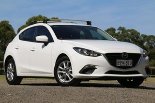 2015 Mazda 3 BM5476 Neo SKYACTIV-MT White 6 Speed Manual Hatchback.