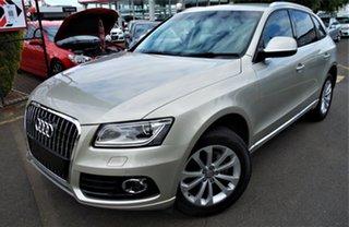 2013 Audi Q5 8R MY13 TDI S Tronic Quattro Silver 7 Speed Sports Automatic Dual Clutch Wagon.