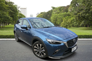 2020 Mazda CX-3 DK2W7A sTouring SKYACTIV-Drive FWD Blue 6 Speed Sports Automatic Wagon.