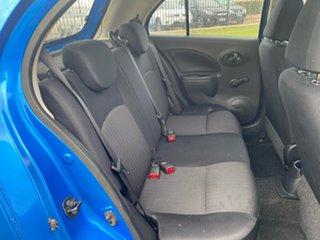 2011 Nissan Micra K13 ST Blue 4 Speed Automatic Hatchback