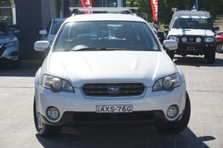 2005 Subaru Outback B4A MY05 AWD White 4 Speed Sports Automatic Wagon.