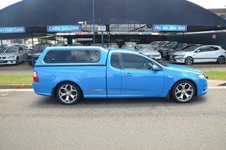 2010 Ford Falcon FG Upgrade XR6 50th Anniversary Blue 6 Speed Auto Seq Sportshift Utility.