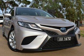 2018 Toyota Camry AXVH71R Ascent Sport Blonde/grey 6 Speed Constant Variable Sedan Hybrid.
