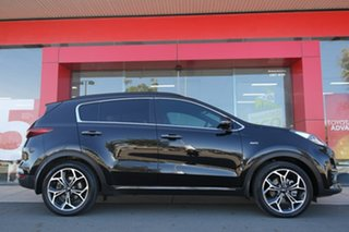 2018 Kia Sportage QL MY19 GT-Line AWD Black 8 Speed Sports Automatic Wagon.