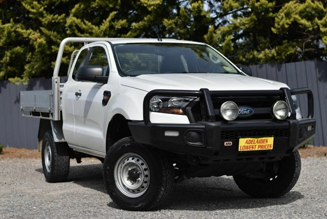 Used Ford Ranger PX MkII XL Hi-Rider Morphett Vale, 2015 Ford Ranger PX MkII XL Hi-Rider White 6 Speed Sports Automatic Cab Chassis