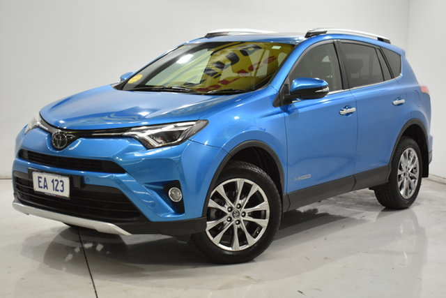 Used Toyota RAV4 ALA49R Cruiser AWD Brooklyn, 2016 Toyota RAV4 ALA49R Cruiser AWD Blue 6 Speed Sports Automatic Wagon