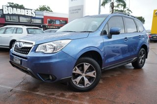 2014 Subaru Forester MY14 2.5I Blue Continuous Variable Wagon.