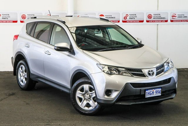 Pre-Owned Toyota RAV4 ZSA42R MY14 Upgrade GX (2WD) Myaree, 2014 Toyota RAV4 ZSA42R MY14 Upgrade GX (2WD) Silver Pearl Continuous Variable Wagon