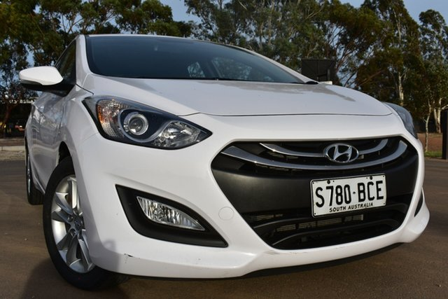 Used Hyundai i30 GD2 MY14 SE St Marys, 2014 Hyundai i30 GD2 MY14 SE White 6 Speed Sports Automatic Hatchback