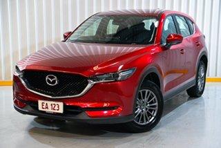 2017 Mazda CX-5 KF4WLA Maxx SKYACTIV-Drive i-ACTIV AWD Sport Red/Black 6 Speed Sports Automatic.