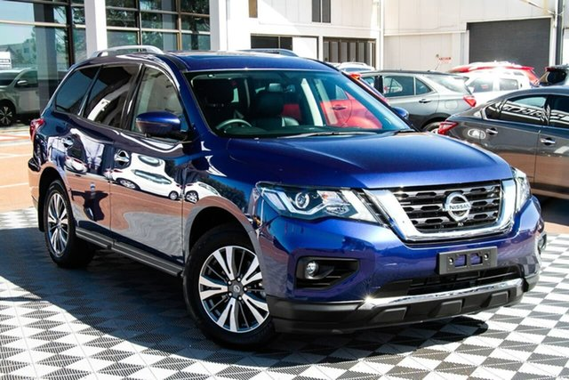 Used Nissan Pathfinder R52 Series III MY19 ST-L X-tronic 2WD Attadale, 2020 Nissan Pathfinder R52 Series III MY19 ST-L X-tronic 2WD Caspian Blue 1 Speed Constant Variable