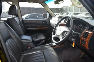 2009 Nissan Patrol GU 6 MY08 TI Black 4 Speed Sports Automatic Wagon