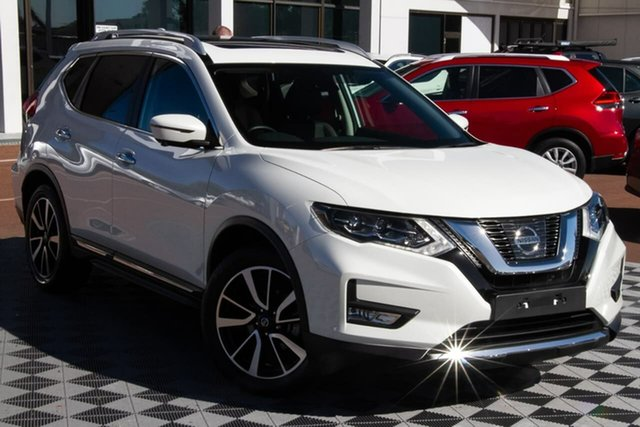 Used Nissan X-Trail T32 Series II Ti X-tronic 4WD Attadale, 2020 Nissan X-Trail T32 Series II Ti X-tronic 4WD Ivory Pearl 7 Speed Constant Variable Wagon