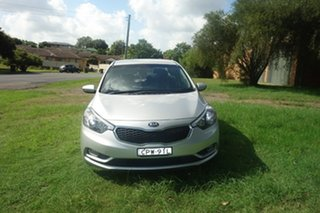 2013 Kia Cerato TD MY13 S Silver 6 Speed Manual Sedan.