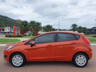 2015 Ford Fiesta WZ MY15 Ambiente PwrShift Mars Red 6 Speed Sports Automatic Dual Clutch Hatchback