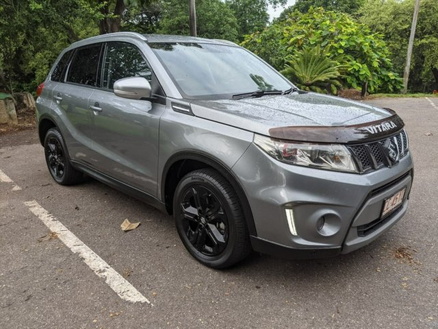 Used Suzuki Vitara LY S Turbo 2WD Stuart Park, 2016 Suzuki Vitara LY S Turbo 2WD Grey 6 Speed Sports Automatic Wagon