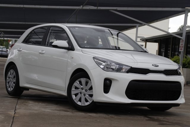 Used Kia Rio YB MY20 S Bundamba, 2019 Kia Rio YB MY20 S White 4 Speed Sports Automatic Hatchback