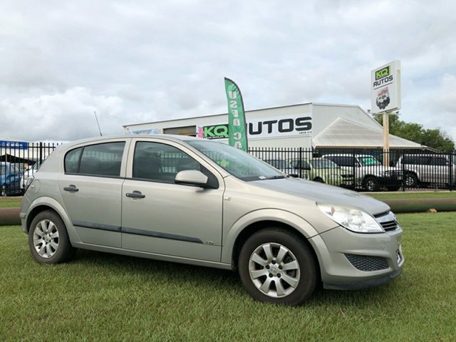 Used Holden Astra AH MY07.5 CD Berrimah, 2007 Holden Astra AH MY07.5 CD Gold 4 Speed Automatic Hatchback