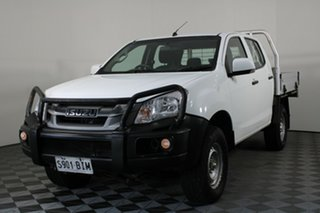 2015 Isuzu D-MAX MY15 SX Crew Cab White 5 Speed Manual Utility
