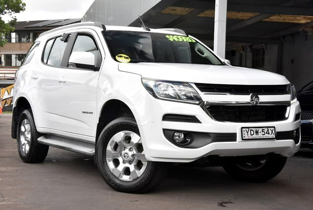 Used Holden Trailblazer RG MY18 LT Waitara, 2017 Holden Trailblazer RG MY18 LT White 6 Speed Sports Automatic Wagon