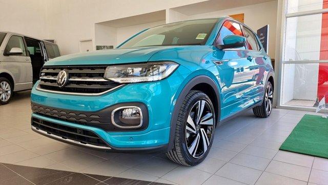 New Volkswagen T-Cross C1 MY21 85TSI DSG FWD Style Tanunda, 2020 Volkswagen T-Cross C1 MY21 85TSI DSG FWD Style Makena Turquoise Metallic 7 Speed