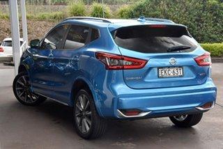 2019 Nissan Qashqai J11 Series 3 MY20 N-SPORT X-tronic Blue 1 Speed Constant Variable Wagon.