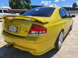 2007 Ford Falcon BF Mk II XR8 Yellow 6 Speed Sports Automatic Sedan