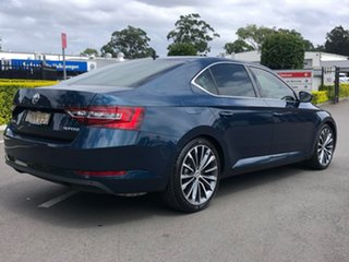 2016 Skoda Superb NP MY16 162TSI Sedan DSG Blue 6 Speed Sports Automatic Dual Clutch Liftback