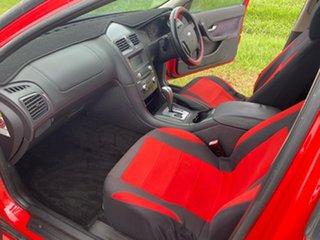 2004 Ford Falcon BA Mk II Futura Red 4 Speed Sports Automatic Sedan