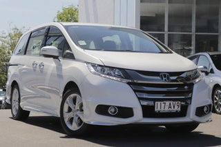 2020 Honda Odyssey RC MY20 VTi Platinum White 7 Speed Constant Variable Wagon.