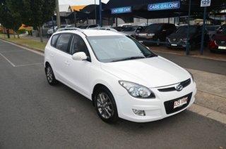 2012 Hyundai i30 FD MY12 CW SLX 1.6 CRDi White 4 Speed Automatic Wagon.
