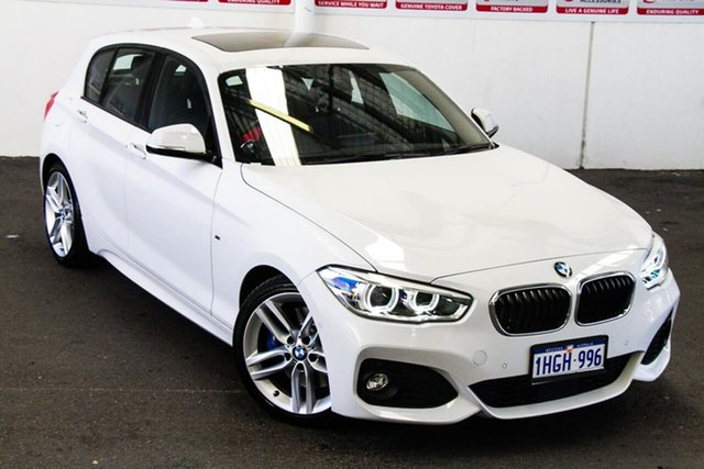 Pre-Owned BMW 125i F20 LCI Sport Line Rockingham, 2015 BMW 125i F20 LCI Sport Line White 8 Speed Automatic Hatchback
