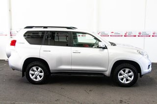 2012 Toyota Landcruiser Prado KDJ150R 11 Upgrade GXL (4x4) Silver Pearl 5 Speed Sequential Auto