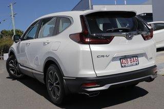 2021 Honda CR-V MY21 VTi X (2WD) 5 Seats Platinum White Automatic Wagon.