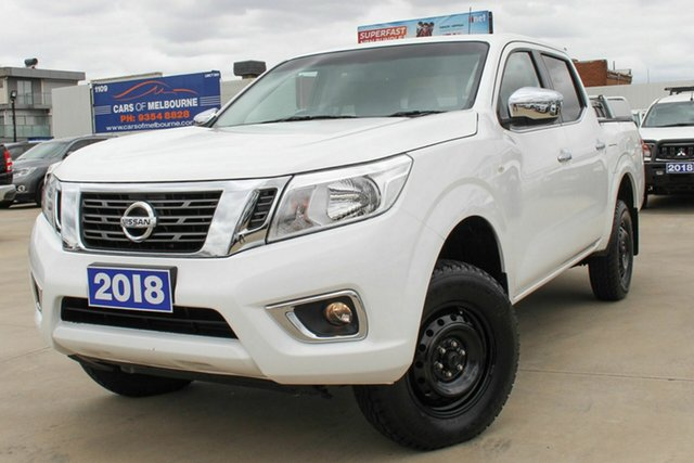 Used Nissan Navara D23 S3 RX Coburg North, 2018 Nissan Navara D23 S3 RX White 7 Speed Sports Automatic Utility